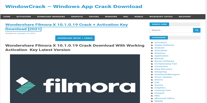 filmora crack download