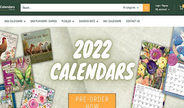 2022 Wall Calendars